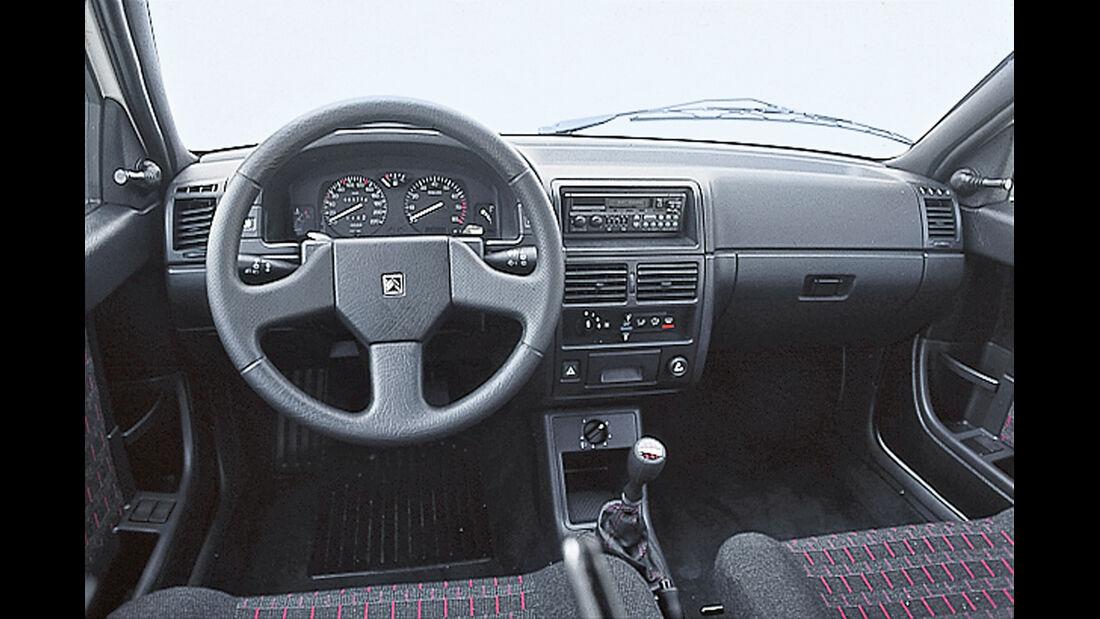 Citroën AX GTi, Cockpit