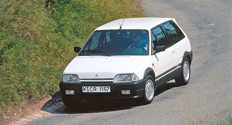 Citroën AX GTi, Frontansicht