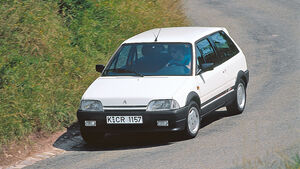 Citroën AX GTi, Frontansicht
