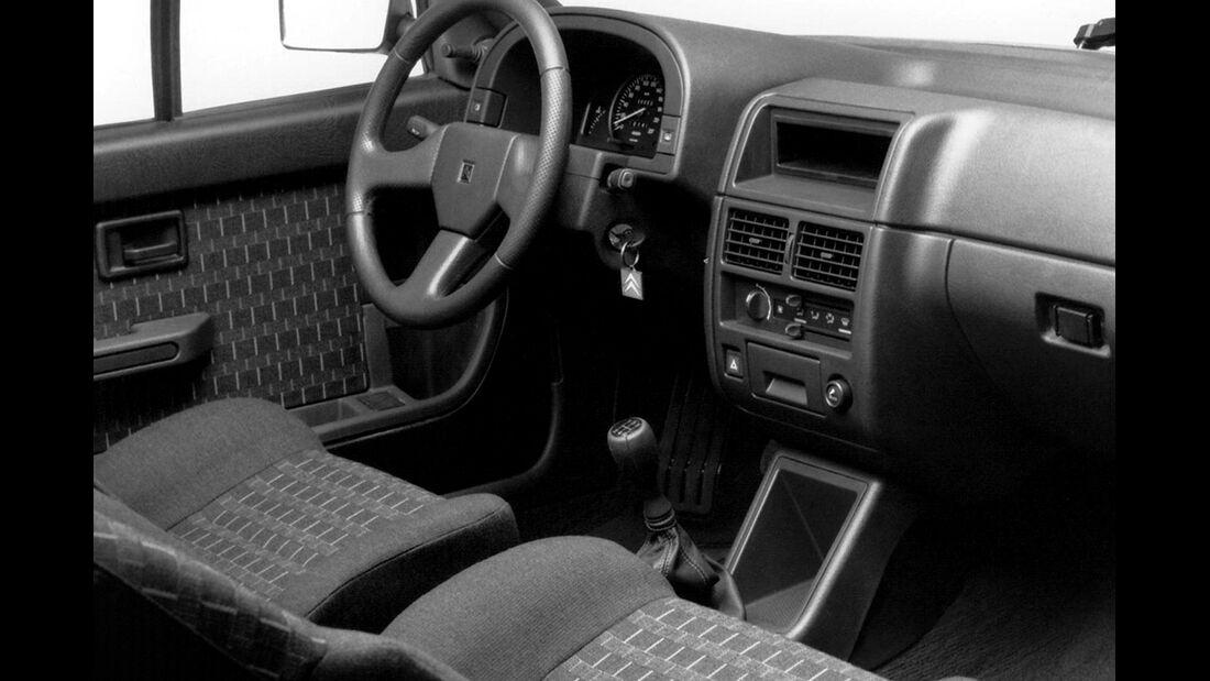 Citroën AX GTi, Heckansicht