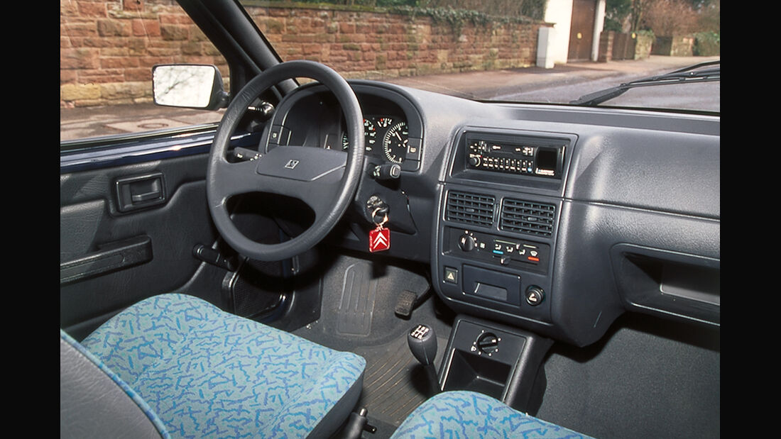Citroën AX Teen, Cockpit