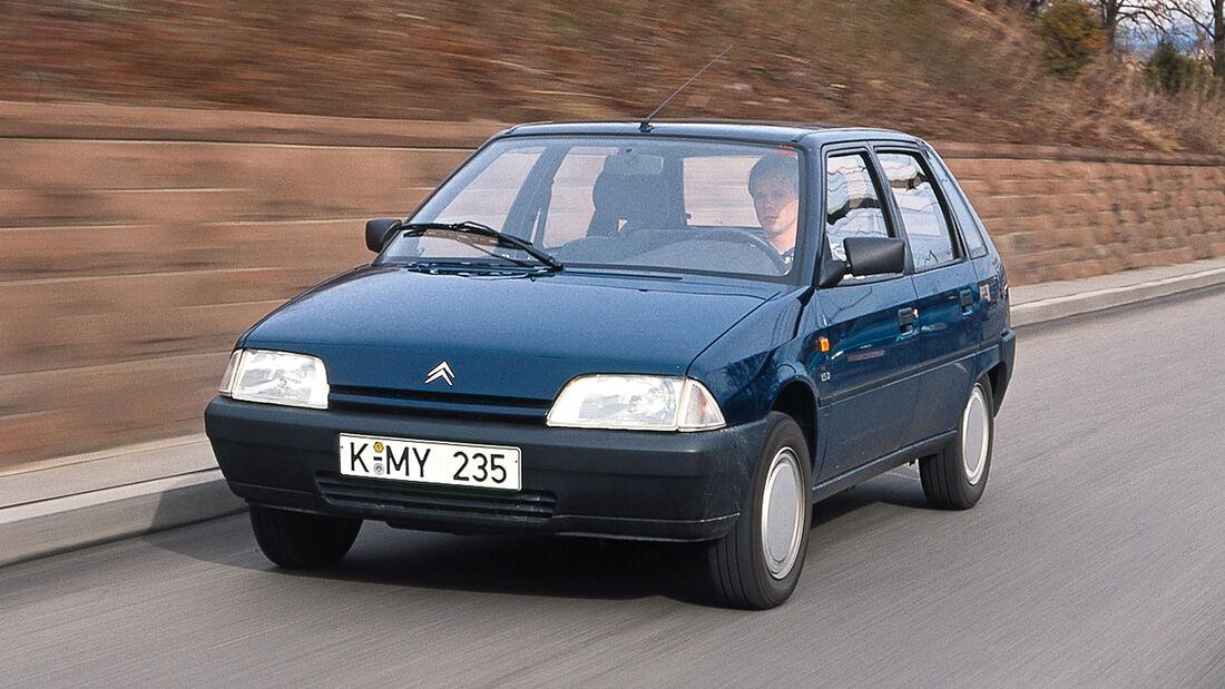 Citroën AX Teen, Frontansicht