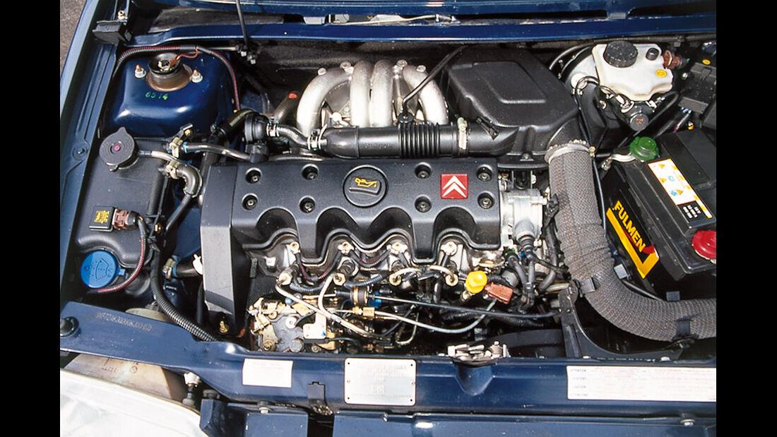 Citroën AX Teen, Motor
