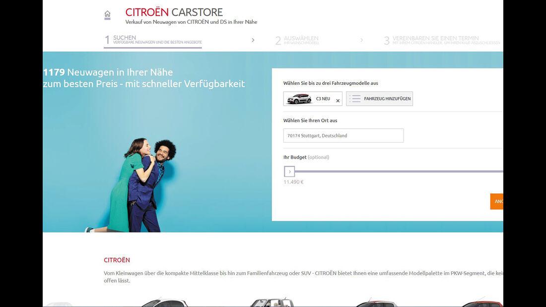 Citroën Autokauf Online