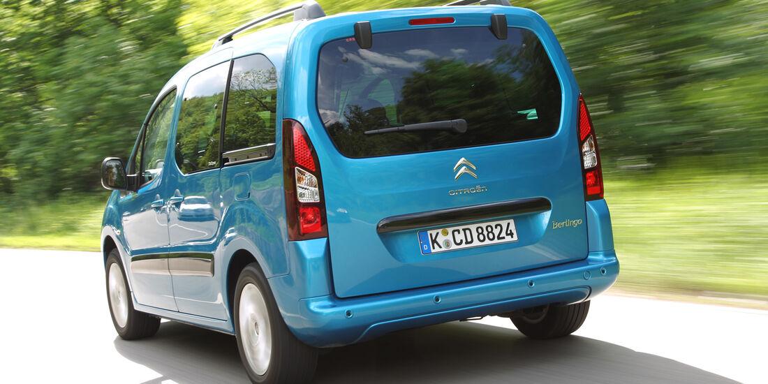 Citroën Berlingo, Heckansicht
