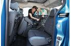 Citroën Berlingo, Rücksitz, umklappen