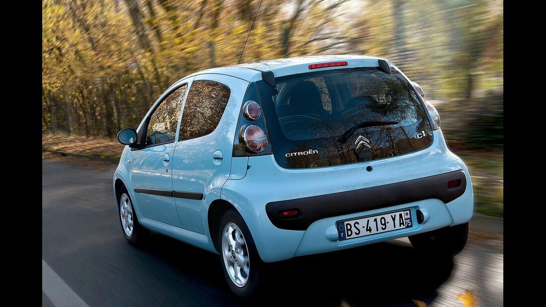 Citroën C1, Seitenansicht