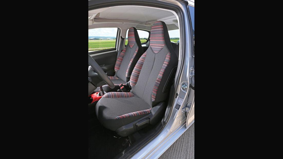 Citroën C1 Vti 68, Fahrersitz