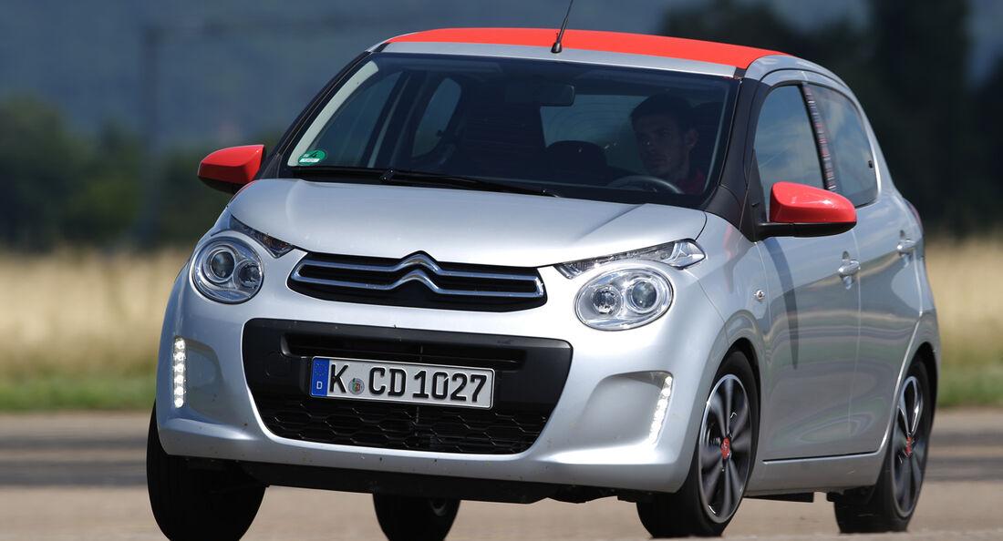 Citroën C1 Vti 68, Frontansicht