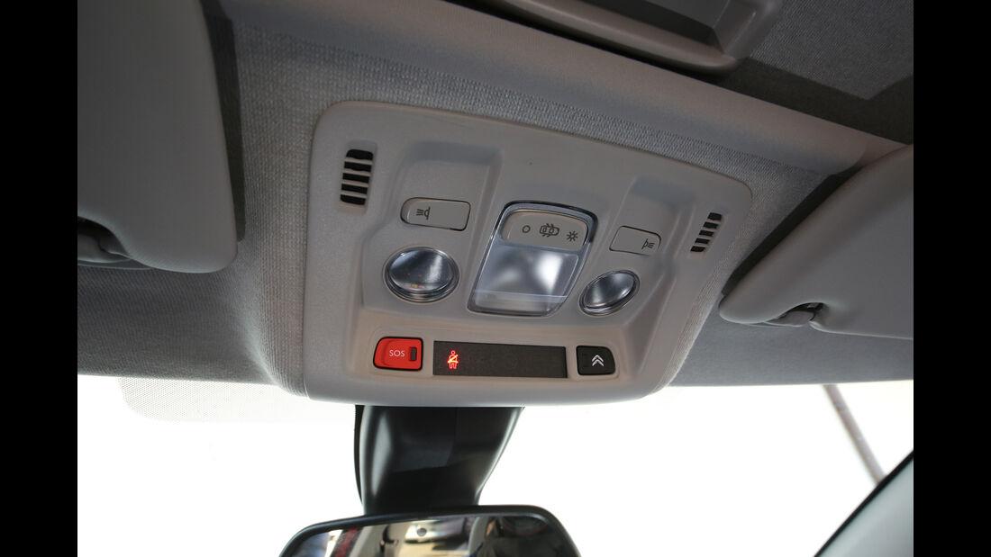 Citroën C3 BlueHDi 100, Bedienelemente
