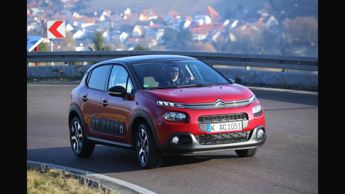 Citroën C3 BlueHDi 100, Frontansicht