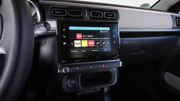 Citroën C3 BlueHDi 100, Infotainment