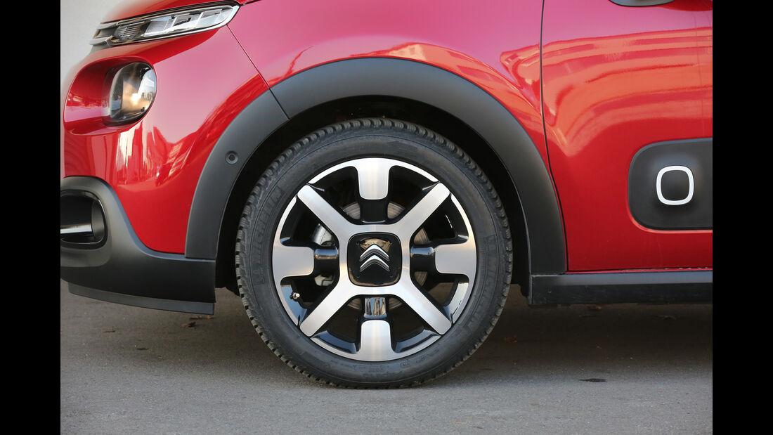 Citroën C3 BlueHDi 100, Rad, Felge