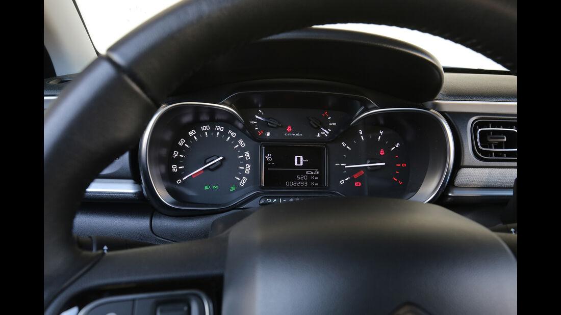 Citroën C3 BlueHDi 100, Rundinstrumente