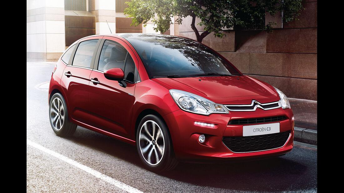 Citroën C3, Frontansicht