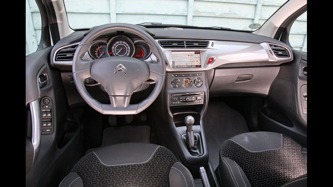Citroën C3, Innenraum