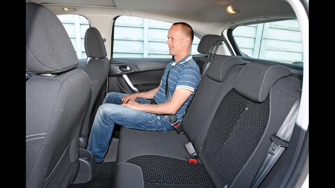 Citroën C3, Innnenraum