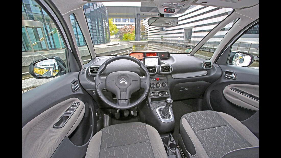 Citroën C3 Picasso HDi 90, Cockpit