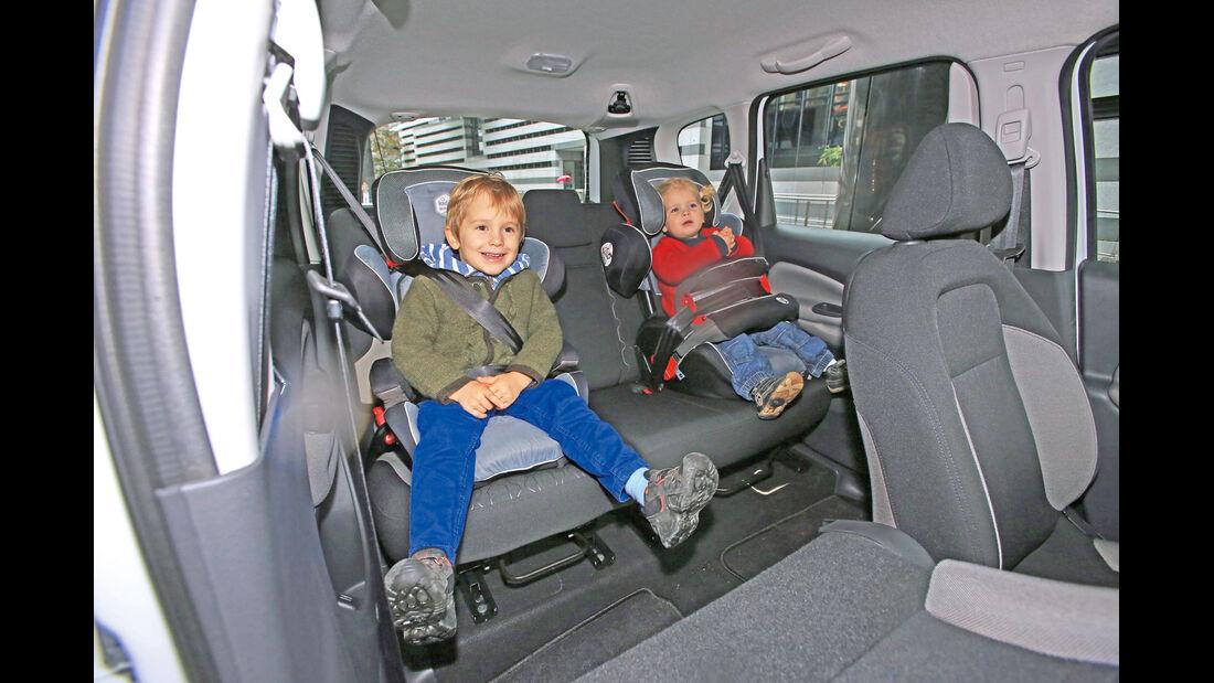 Citroën C3 Picasso HDi 90, Fondsitz, Kindersitz