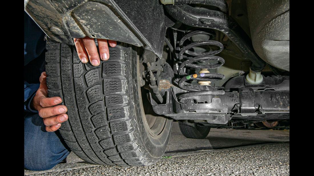 Citroën C3 Picasso, Reifen, Verschleiss
