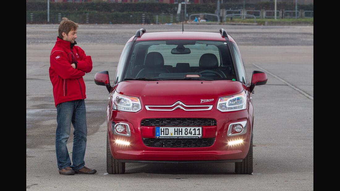 Citroën C3 Picasso VTi 95 Attract, Frontansicht