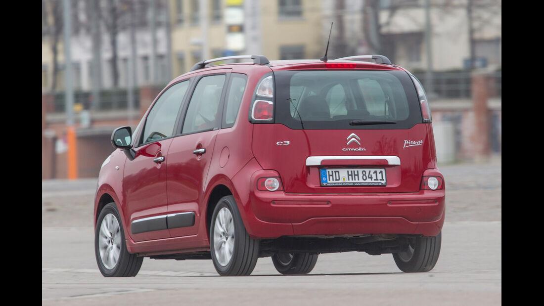 Citroën C3 Picasso VTi 95 Attract, Heckansicht
