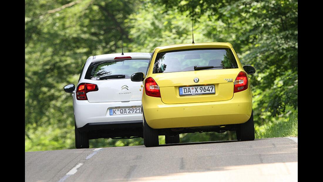 Citroën C3, Skoda Fabia
