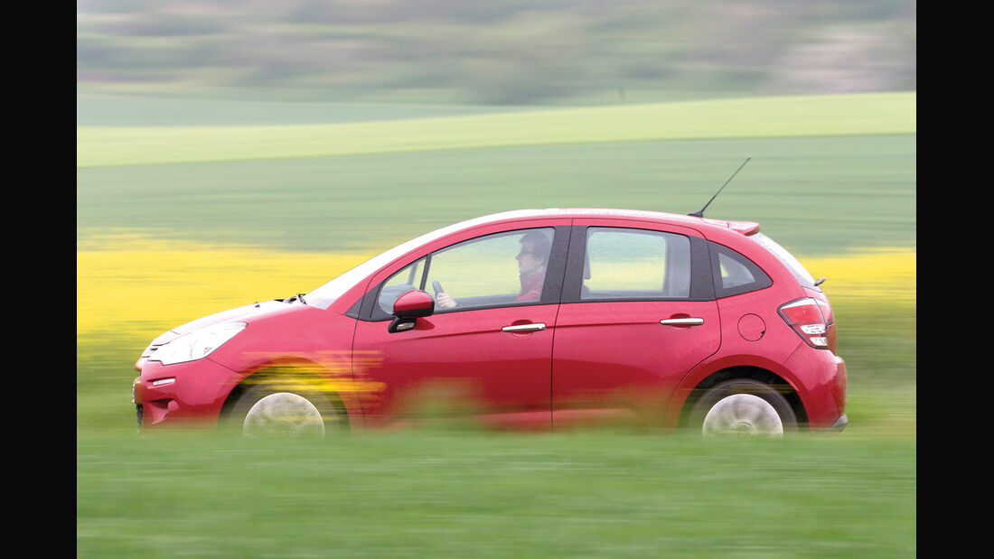Citroën C3 VTi 82, Seitenansicht