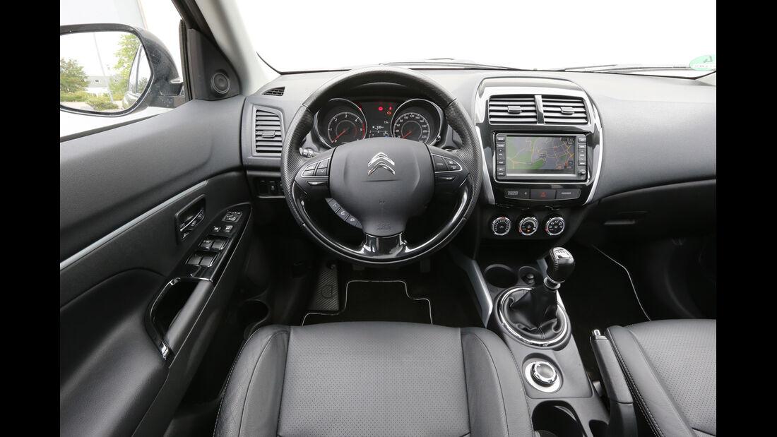 Citroën C4 Aircross 150 HDi AWD, Cockpit, Lenkrad