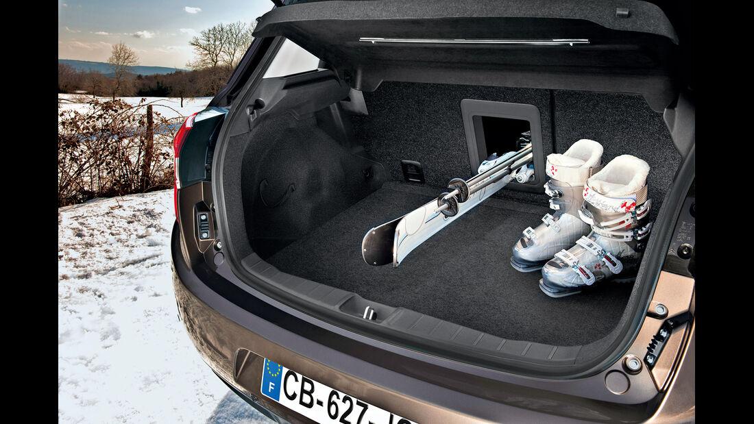 Citroën C4 Aircross, Kofferraum