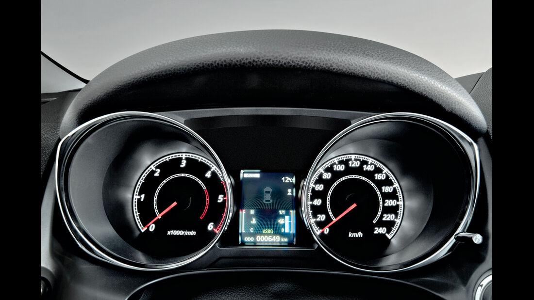 Citroën C4 Aircross, Rundinstrumente, Tacho