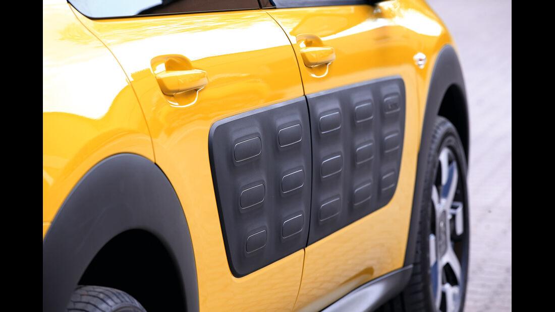 Citroën C4 Cactus, Airbumps