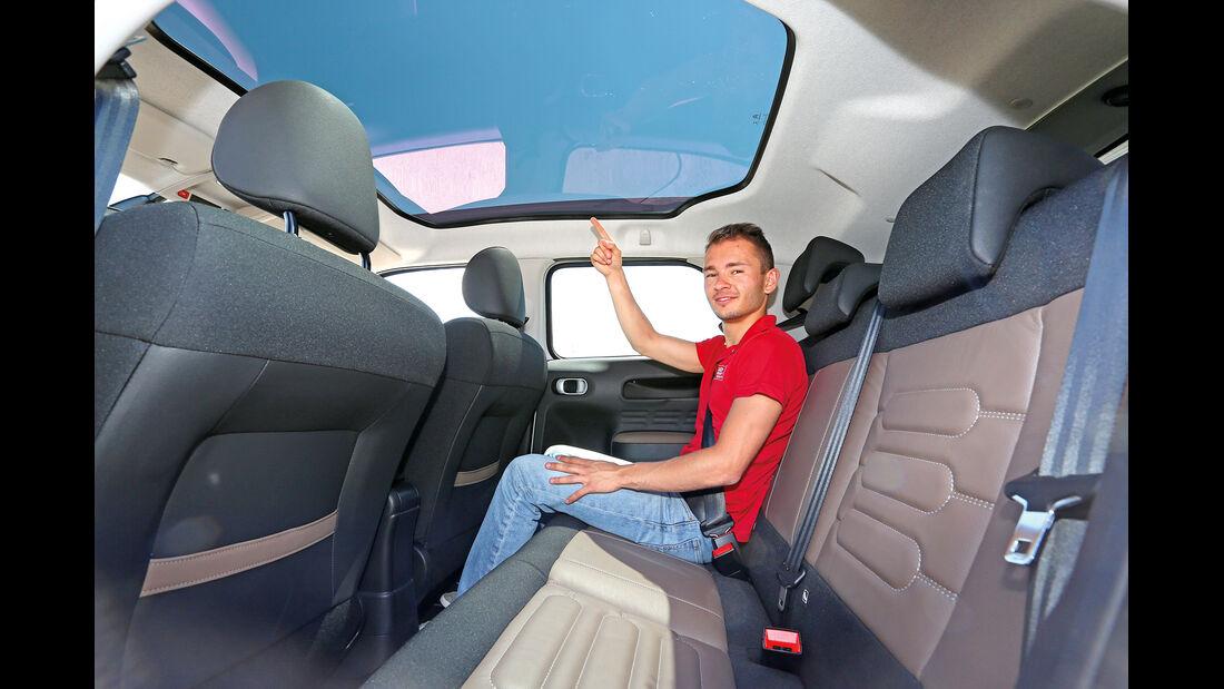 Citroën C4 Cactus Blue HDi 100, Dachfenster
