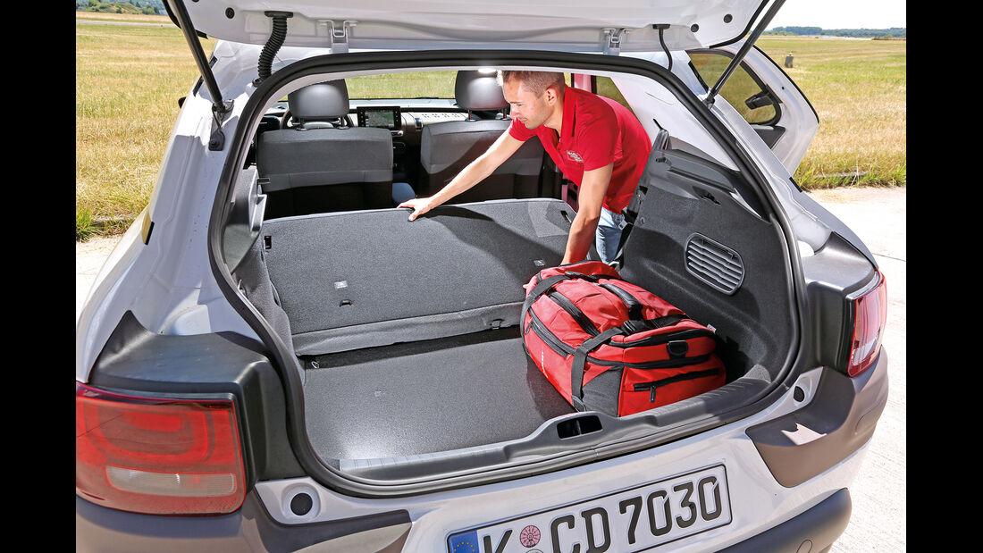 Citroën C4 Cactus Blue HDi 100, Kofferraum