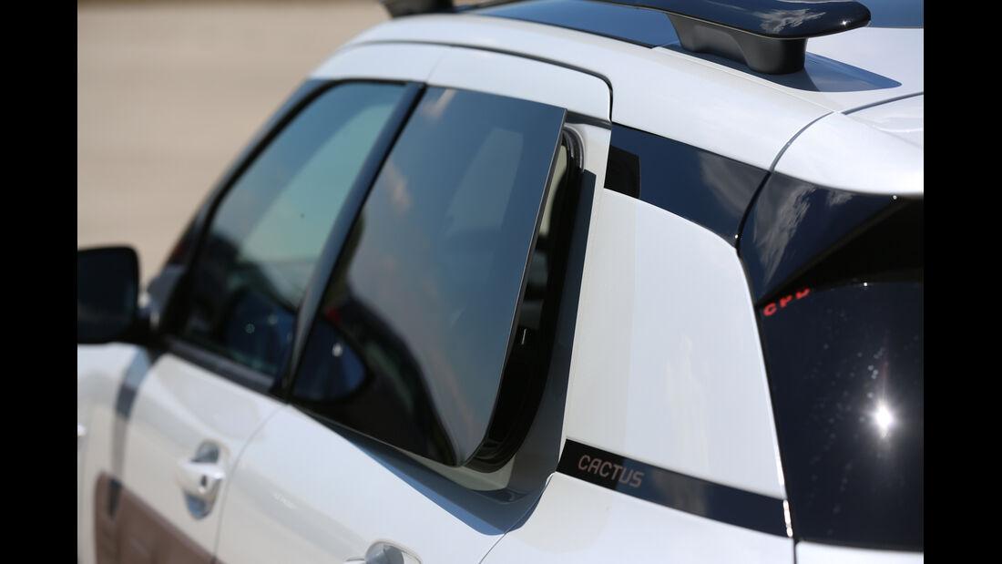Citroën C4 Cactus Blue HDi 100, Seitenführung
