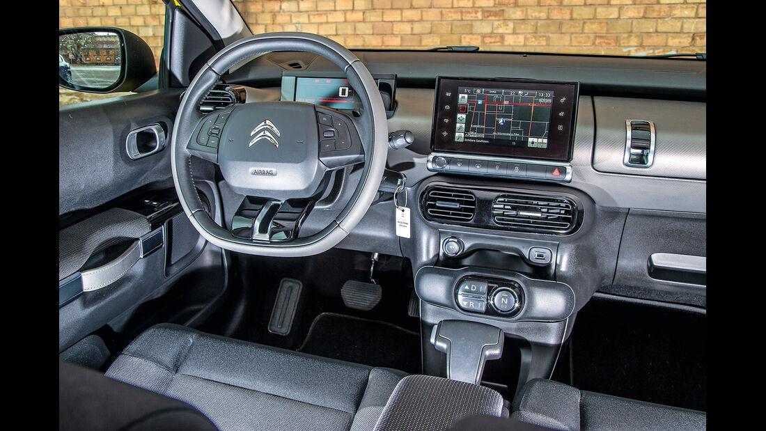 Citroën C4 Cactus, Cockpit