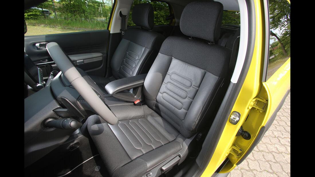 Citroën C4 Cactus, Fahrersitz