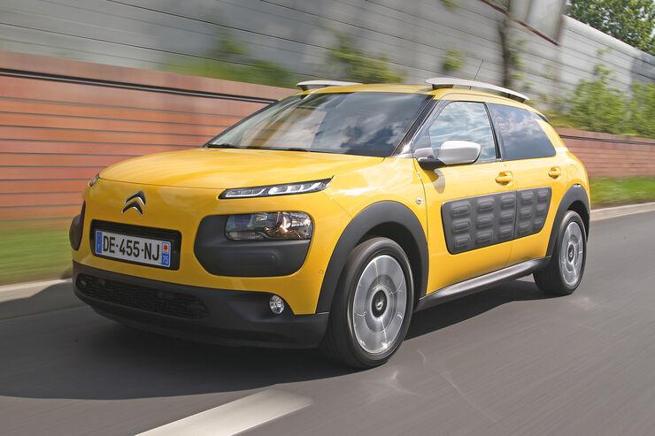 Citroën C4 Cactus, Frontansicht