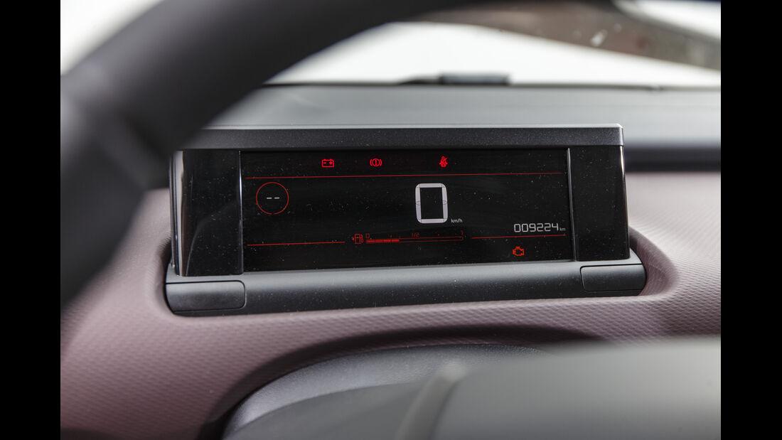 Citroën C4 Cactus, Interieur