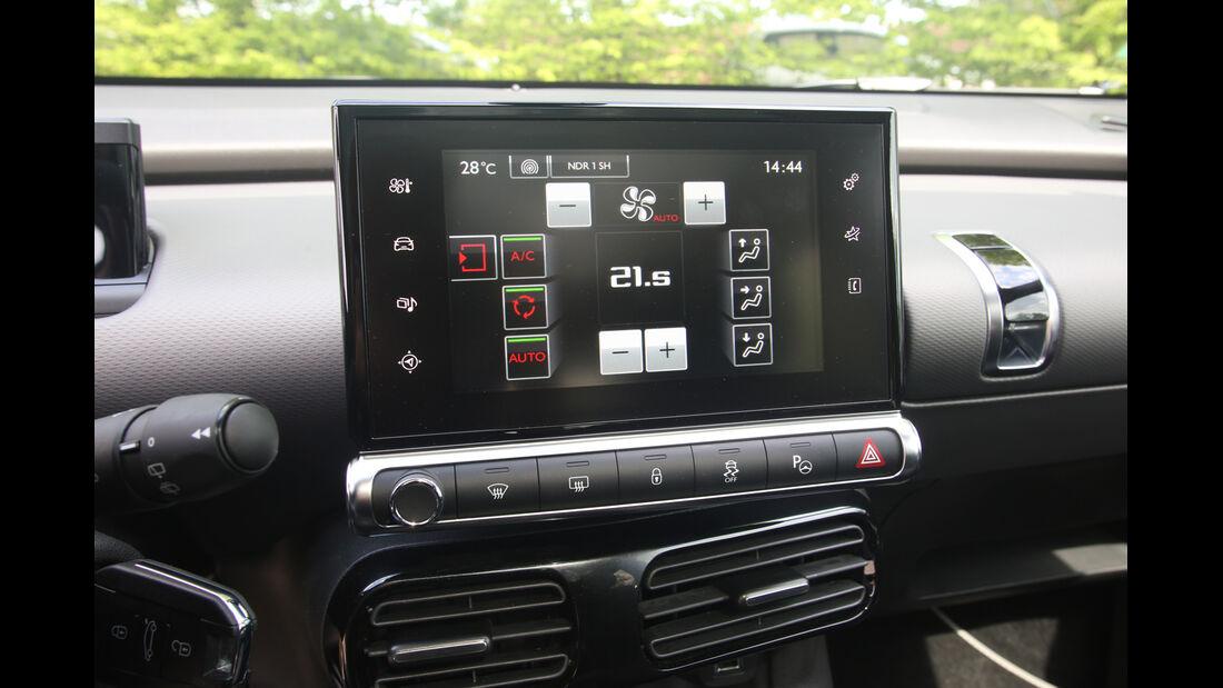 Citroën C4 Cactus, Monitor