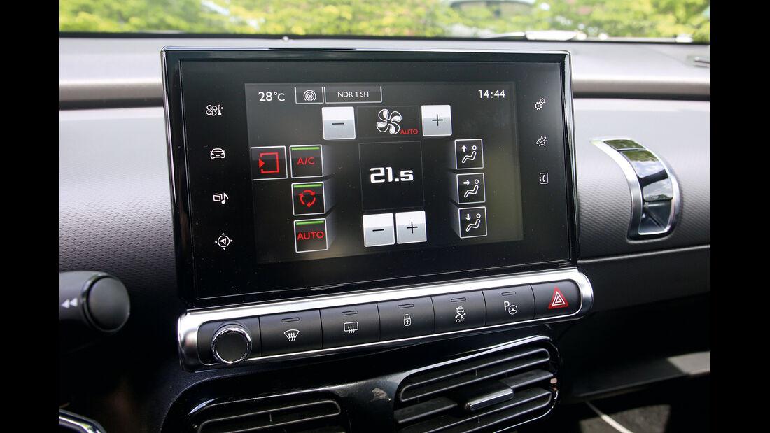 Citroën C4 Cactus, Navi, Infotainment