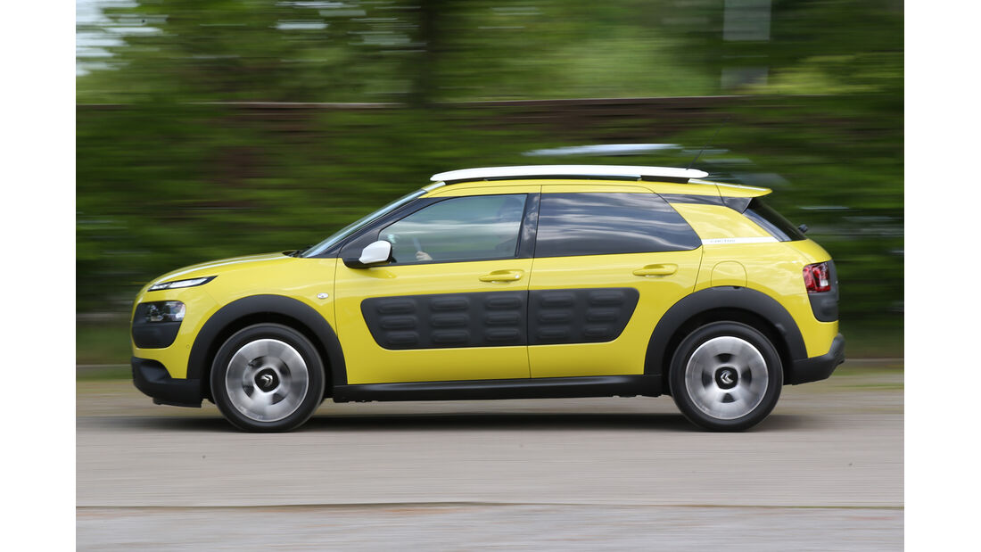 Citroën C4 Cactus, Seitenansicht