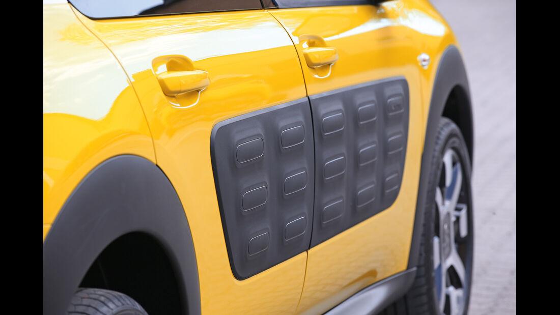 Citroën C4 Cactus, Türverkleidung