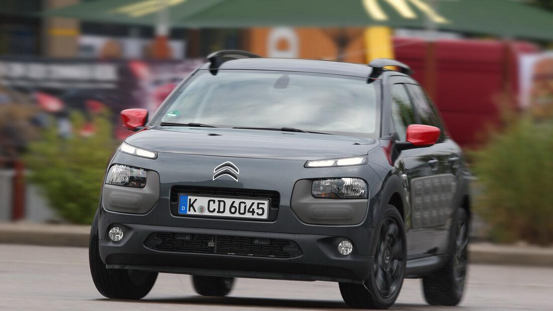 Citroën C4 Cactus e-VTI 82, Frontansicht