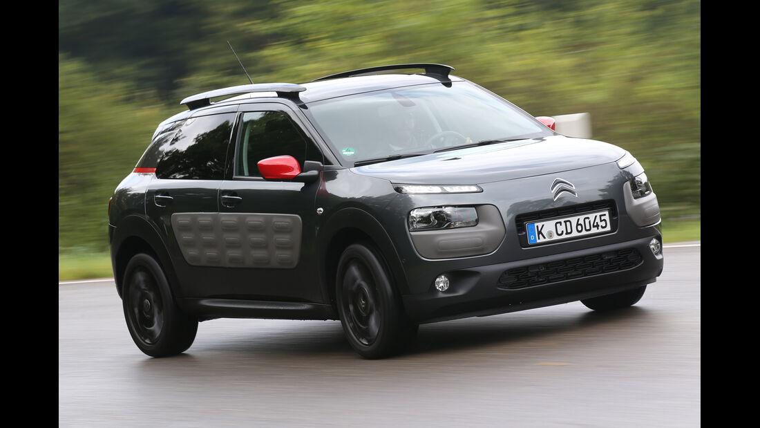 Citroën C4 Cactus e-VTI 82, Seitenansicht