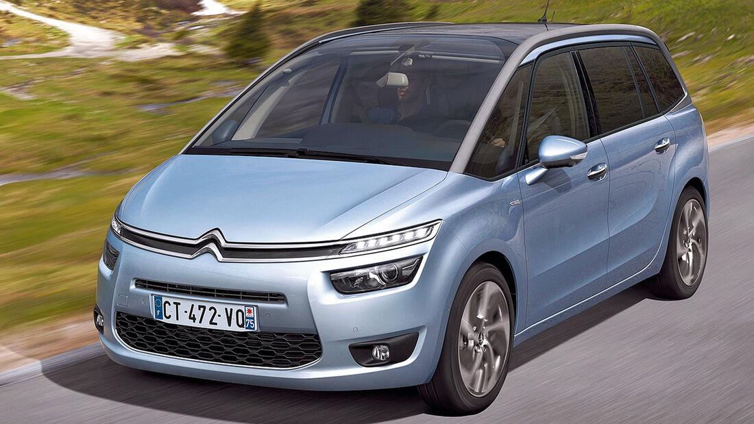 Citroën C4 Grand Picasso, Frontansicht