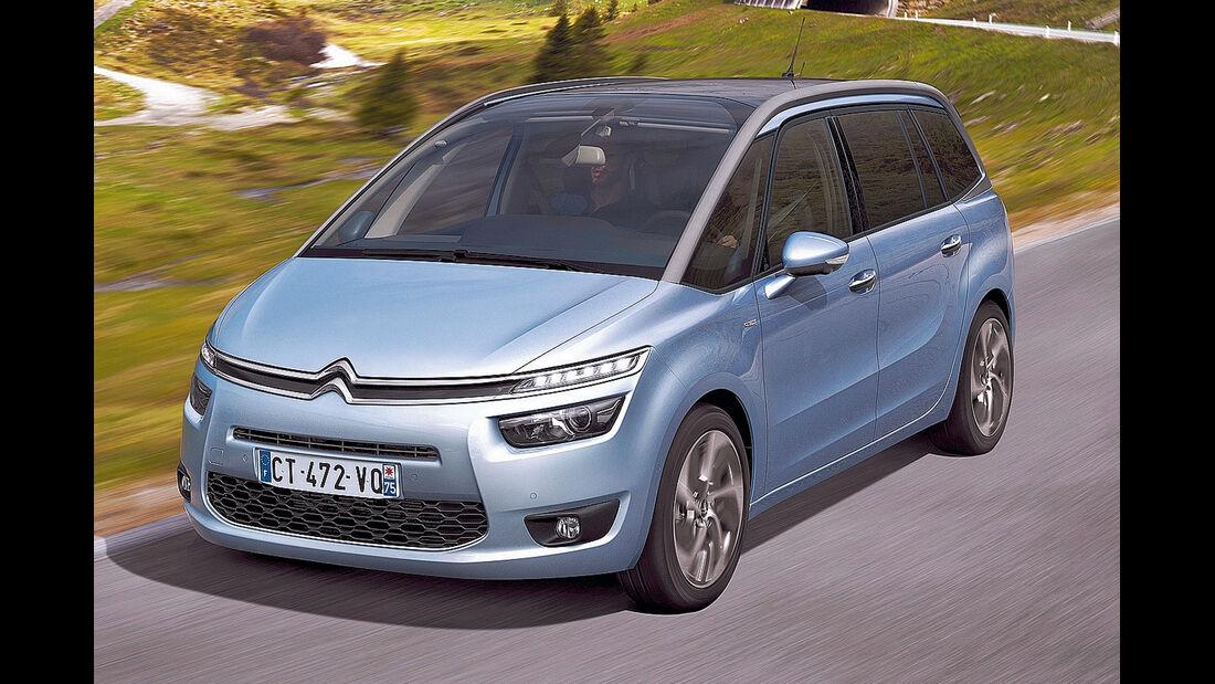 Citroën C4 (Grand) Picasso, Frontansicht