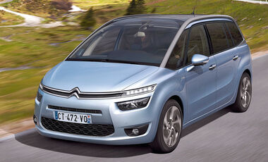 Citroën C4 Grand Picasso, Frontansicht