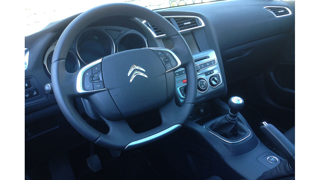 Citroën C4, Innenraum, Lenkrad