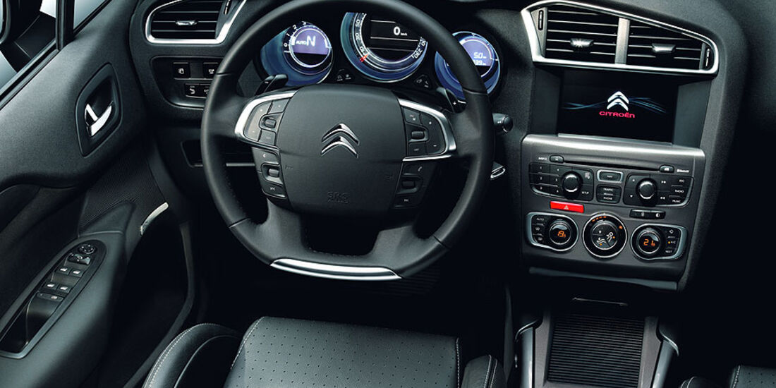 Citroën C4, Innenraum